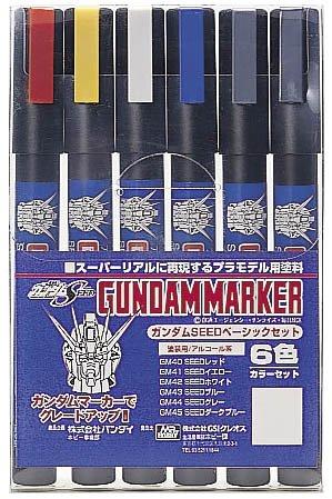 GSIクレオス ガンダムマーカー ガンダムSEEDベーシック GMS109