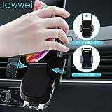 Jawwei車載Qi ワイヤレス充電器 ホルダー 電動式 自動開閉 QI/PSE認証済み 画像