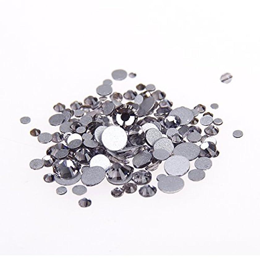 直面する結婚する決めますNizi ジュエリー ブランド ブラックダイヤモンド ラインストーン は ガラスの材質 ネイル使用 型番ss3-ss34 (SS12 1440pcs)