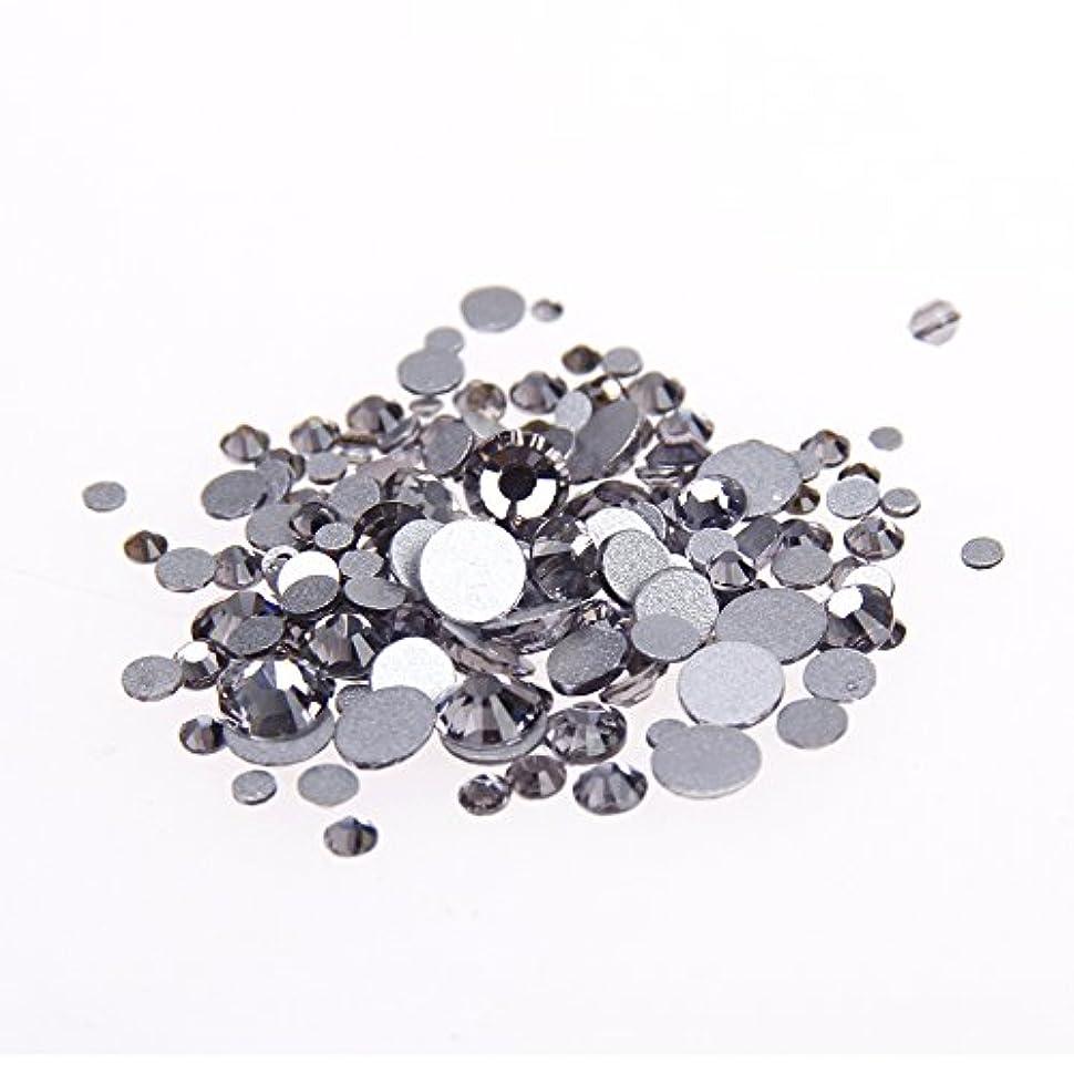 封建バドミントン平日Nizi ジュエリー ブランド ブラックダイヤモンド ラインストーン は ガラスの材質 ネイル使用 型番ss3-ss34 (SS12 1440pcs)