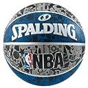 バスケットボール 5号球 ミニバス対応(小学生用) 屋外用グラフィティ ブルー NBA公認 ブルー バスケ バスケット 83-678J