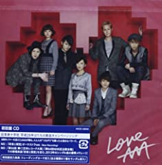AAA「Love」のジャケット画像