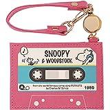 デルフィーノ PEANUTS スヌーピー フラットパスケース カセットテープ P-13344