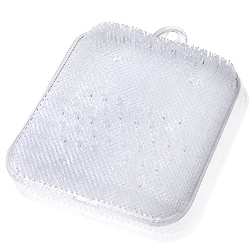 (ムジナ) mujina 足洗いマット お風呂で角質ケア 吸...