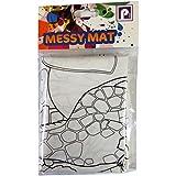 Messy Mat White - Painting Waterproof No Floor Mess Wipe Clean Art Craft Paint