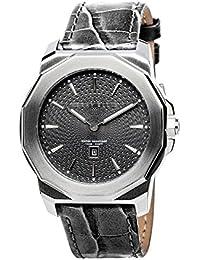 [ペリー・エリス]Perry Ellis 腕時計 DECAGON(デカゴン) クォーツ 42 mmケース 本革バンド 08005-01 メンズ 【正規輸入品】