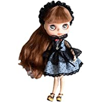 (ドーリア) Dollia ブライス 1/6ドール用 アウトフィット リトルスターウィッチ 3点セット ドレス ヘアピンヘッドドレス ネックレス ネオブライス ドール 人形