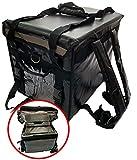delive デリバリー リュック 保冷バッグ 大容量 ウーバーイーツ クーラーボックス 保温バッグ クーラーバッグ 宅配バッグ 配達 保冷リュック (44L)