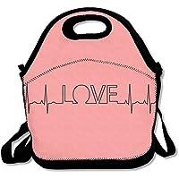 hfjdks EKG Valentine 's Day断熱保温ランチバッグ防水アウトドア旅行ピクニックキャリーケースランチハンドバッグトートバッグ