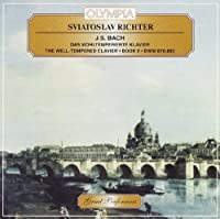 Sviatoslav Richter, piano. Bach: The Well-Tempered Clavier, Book 2 - (2 CD Set)