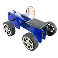 HZOTB Q1ソーラーカーQ1 DIY物理実験手作り組み立て式ソーラーおもちゃ