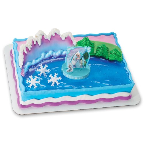 Disney Frozen Party Cake Toppe...