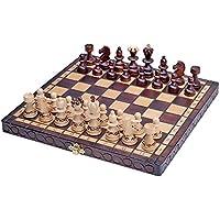 Chess Set Paris, beautiful design,wooden, folding, gift item - chessgamesshop.com
