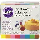 WILTON (ウィルトン)アイシング 8色 0.5oz 並行輸入品