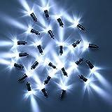 LURICO LED豆電球ホワイト、装飾用 led電球、非点滅LED防水バルーンライトパーティーウェディング誕生日フェスティバルのペーパーランタンバルーンデコレーション(30個入)