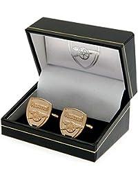 Arsenal F.C. Gold Plated Cufflinks