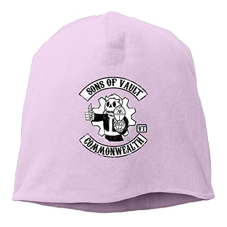 【Dera Princess】 男女兼用 ニット帽 Sons Of Vaultロゴ コットン ニットキャップ 帽子 オールシーズン 被れる
