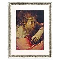 Salvi, Domenico 「Der Hl. Romulus und ein Engel.」 額装アート作品