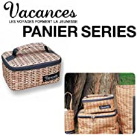 【SPICE】バカンスククーラーランチバッグS(PANIER/パニエ)天然素材のバスケットのようなクーラーバッグ