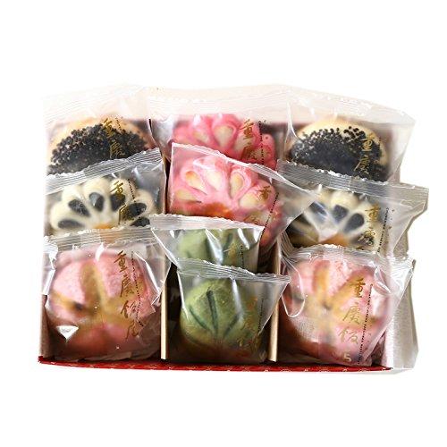 中華菓子 詰め合わせ 5種10個入(チュウカガシ) 重慶飯店華やかな5種類の定番中華菓子のセット