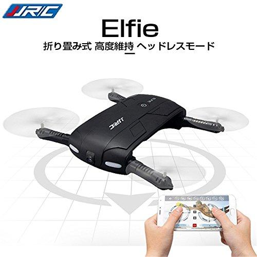 JJRC H37 Elfie ミニドローン カメラ付き WI...