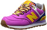 [ニューバランス] new balance スニーカー WL574 EXB (パープル/イエロー(EXB)/24)