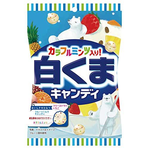パイン 白くまキャンディ 70g ×10袋