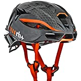 rh+(アールエイチプラス) ヘルメット ヘルメット ランボ [LAMBO] シャイニーブラック/シャイニーレッド L/XL(58-62) 270g JCF公認 EHX6077 01
