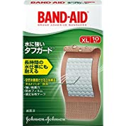 BAND-AID(バンドエイド) 救急絆創膏 タフガード XL 10枚