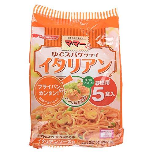 日清フーズ マ・マー ゆでスパゲッティ イタリアン 5食入