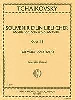 チャイコフスキー: 3つの小品 Op.42より 懐かしい土地の思い出/ガラミアン編/インターナショナル・ミュージック社/ピアノ伴奏付バイオリン・ソロ
