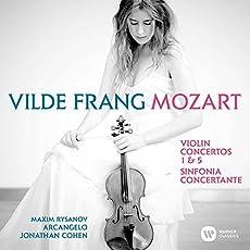 モーツァルト:ヴァイオリン協奏曲集~第1&5番、協奏交響曲