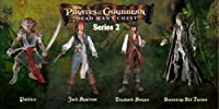 Pirates Of The Caribbean 2 / Dead Man's Chest Action Figures: Series 2 (SET of 4)