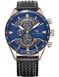 腕時計、メンズ腕時計、本革の多機能メンズウォッチ、メンズスポーツデザインウォッチ