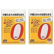 【2個セット】浅田飴 シュガーカット顆粒ゼロ 1kg