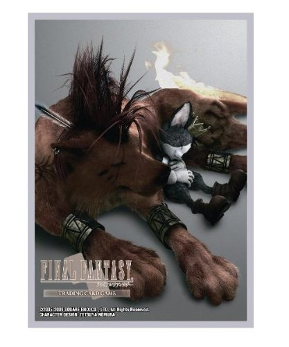 FINAL FANTASY VII ADVENT CHILDREN card sleeve Red XIII by Hobby JAPAN [並行輸入品]