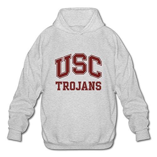 メンズ面白い空白NCAA USC Trojansテキストロゴ...