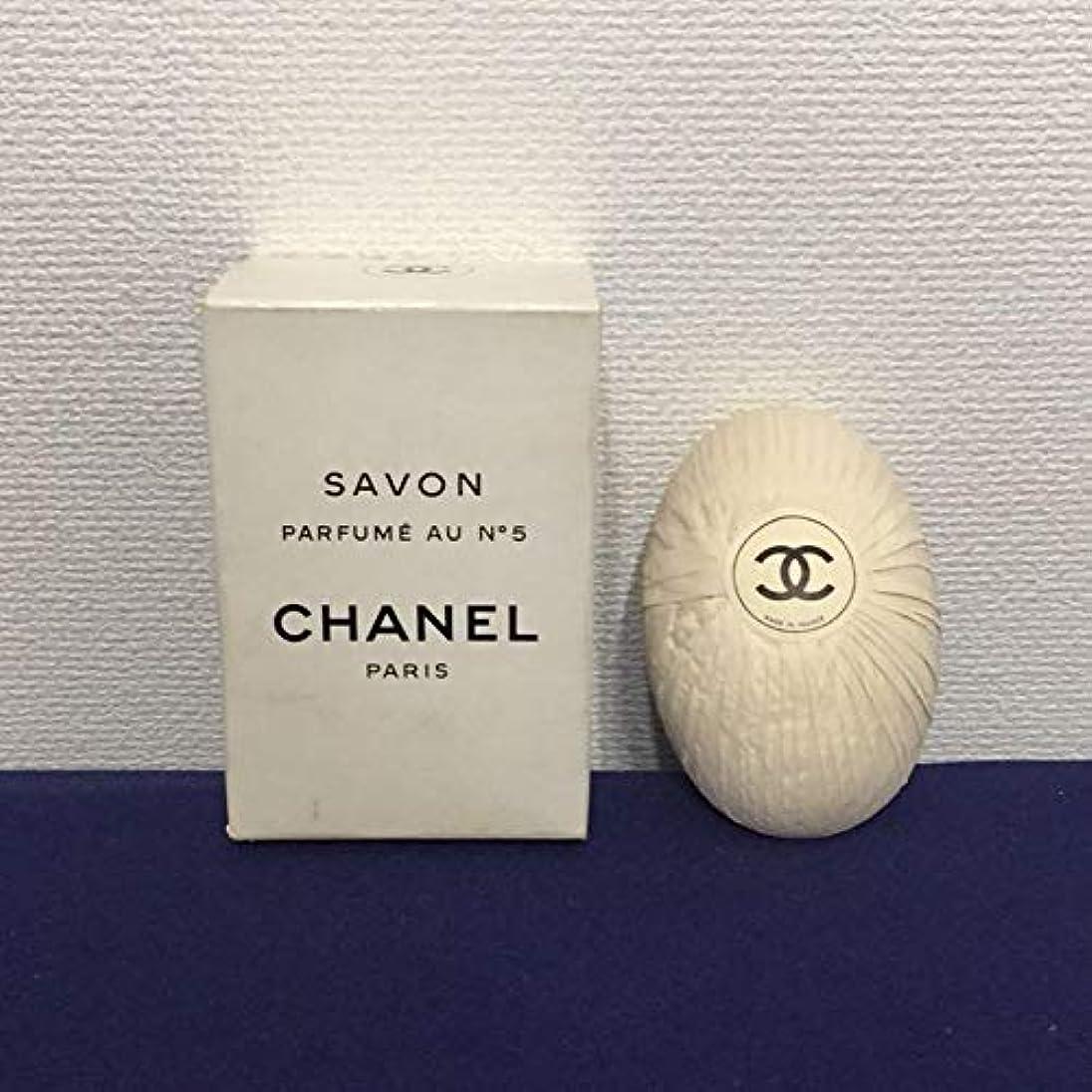 ファックス滑りやすい療法CHANEL サヴォンNo.5 石けん 150g