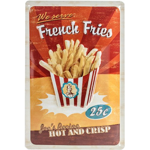 USA French Fries / ブリキ看板 TIN SIGN