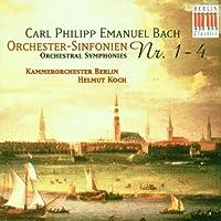 C.P.E.Bach;Orch.Syms.1