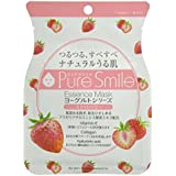 Pure Smile エッセンスマスク ヨーグルトシリーズ ストロベリー 23ml?30枚