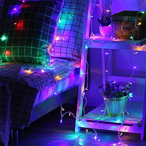 LEDジュエリーライト イルミネーションライト RGB, 10M100球8モード