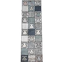 トルコ絨毯 パッチワークデザインラグ アナトリア オールドカーペット238cm×71cm kil000583