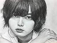 欅坂46 平手友梨奈 鉛筆画