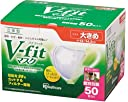 アイリスオーヤマ マスク 立体 Vフィット 大きめ 50枚入り 個包装 NVK-50RL