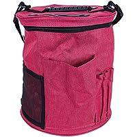 TOOGOO 1pcsアップグレードバージョンLadyニット糸ストレージバッグケースかぎ針編みフックホルダーオーガナイザーバッグ裁縫ツールアクセサリー