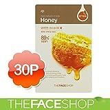 THE FACE SHOP / ザフェイスショップ ザ·フェイスショップすりおろし、蜂蜜マスクシート30枚 Mask Sheet マスクシート(海外直送品)