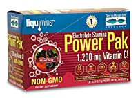 海外直送品Electrolyte Stamina Power Pak, Non-GMO Mixed Berry 30 packets by Trace Minerals