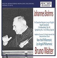 ブラームス:ドイツ・レクイエム(英語歌唱)、ハイドン変奏曲、運命の歌、交響曲第1番
