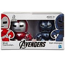 "Marvel AVENGERS(アベンジャーズ) ""Mini Muggs Silver Centurion and Iron Monger (シルバー・センチュリオン & アイアン・モンガー) フィギュア2体セット"
